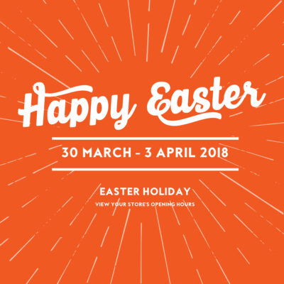 Easter Holiday Opening Hours
