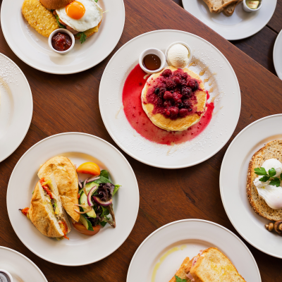 Rise and shine! $10 Brekky at the groove train