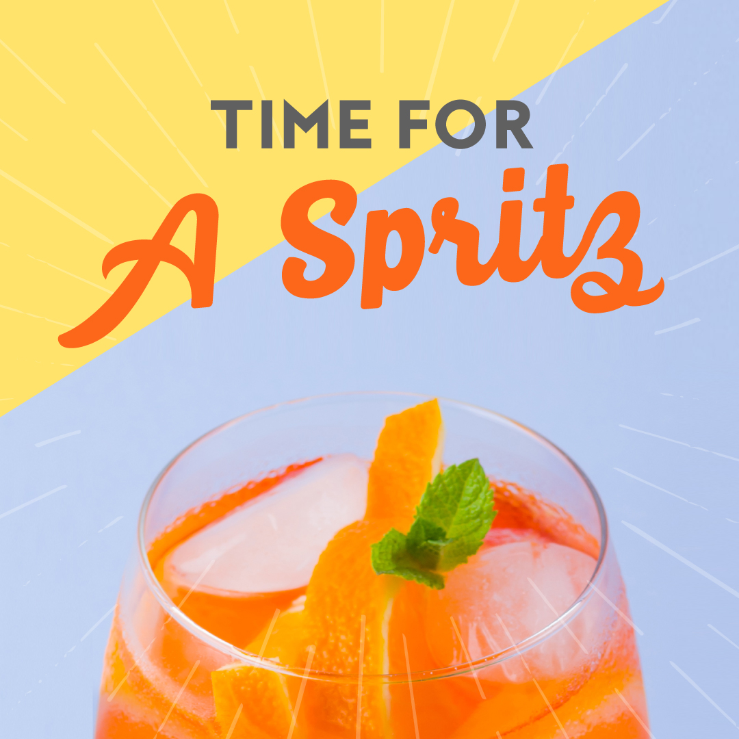 Perfect Time For An Aperol Spritz This Summer
