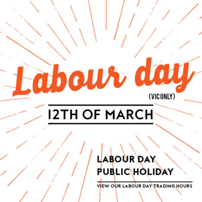 Labour Day Vic